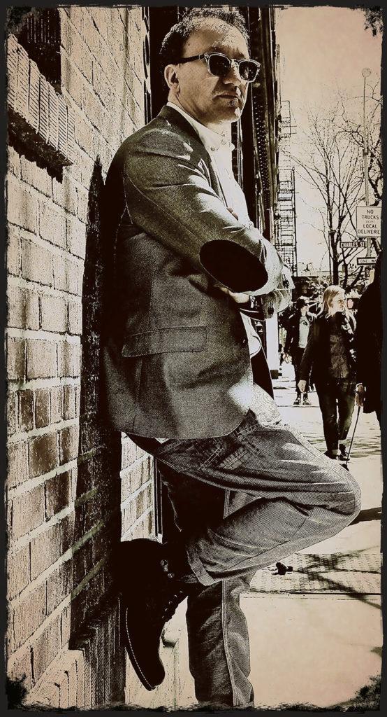 Craig Lees in Greenwich Village, New York, USA